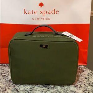 NWT Authentic Kate Spade Nylon Large Makeup Bag
